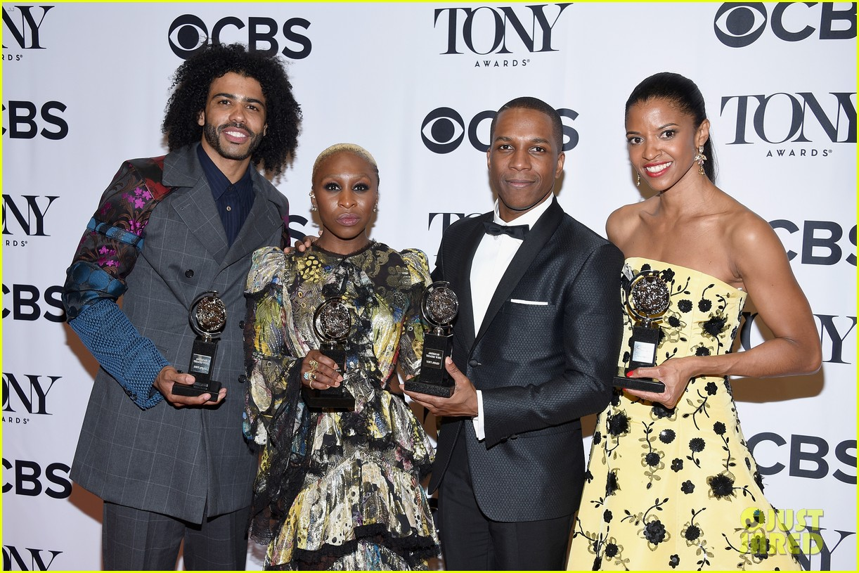 black actors win all four musical acting tony awards in 2016 033680886