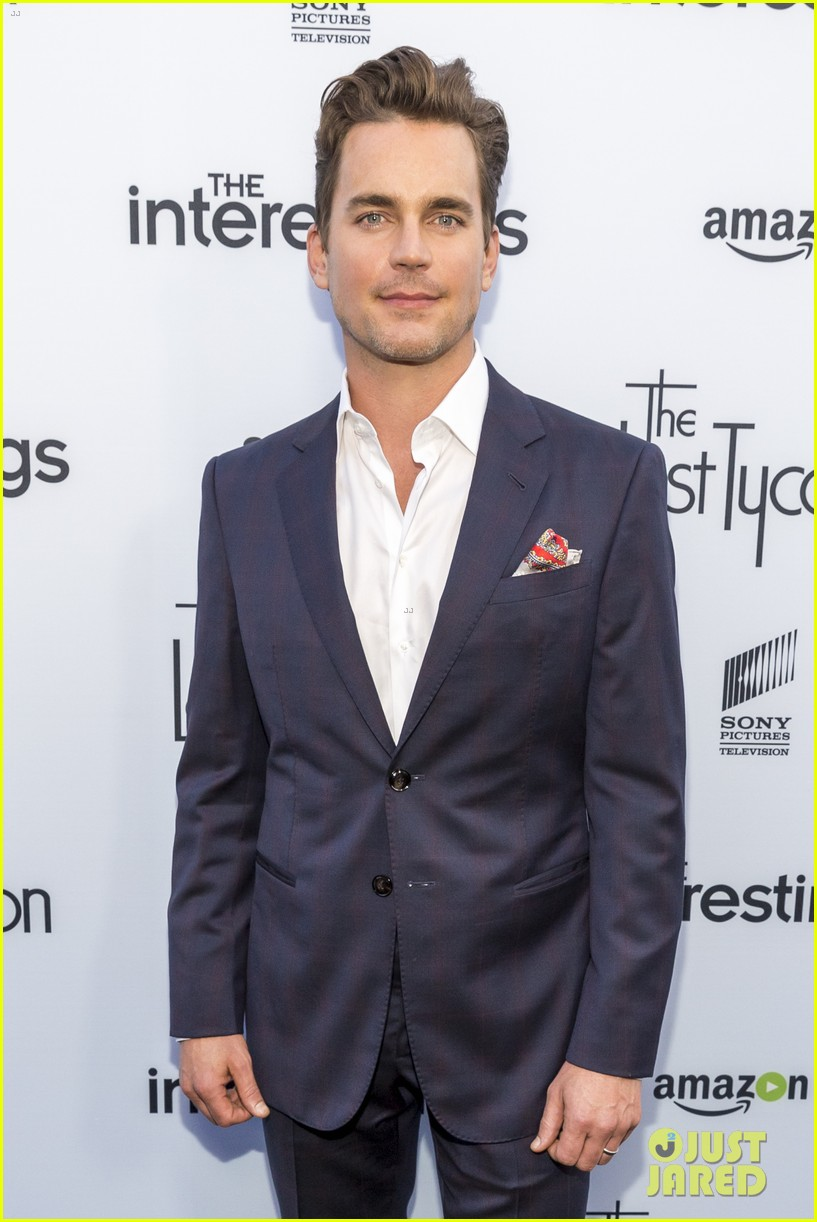 matt bomer lily collins celebrate the last tycoon pilot release 023694636