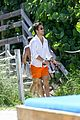 diego boneta shows off his buff chest in miami 10