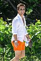 diego boneta shows off his buff chest in miami 11