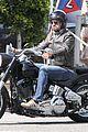 gerard butler takes weekend motorcycle ride 07