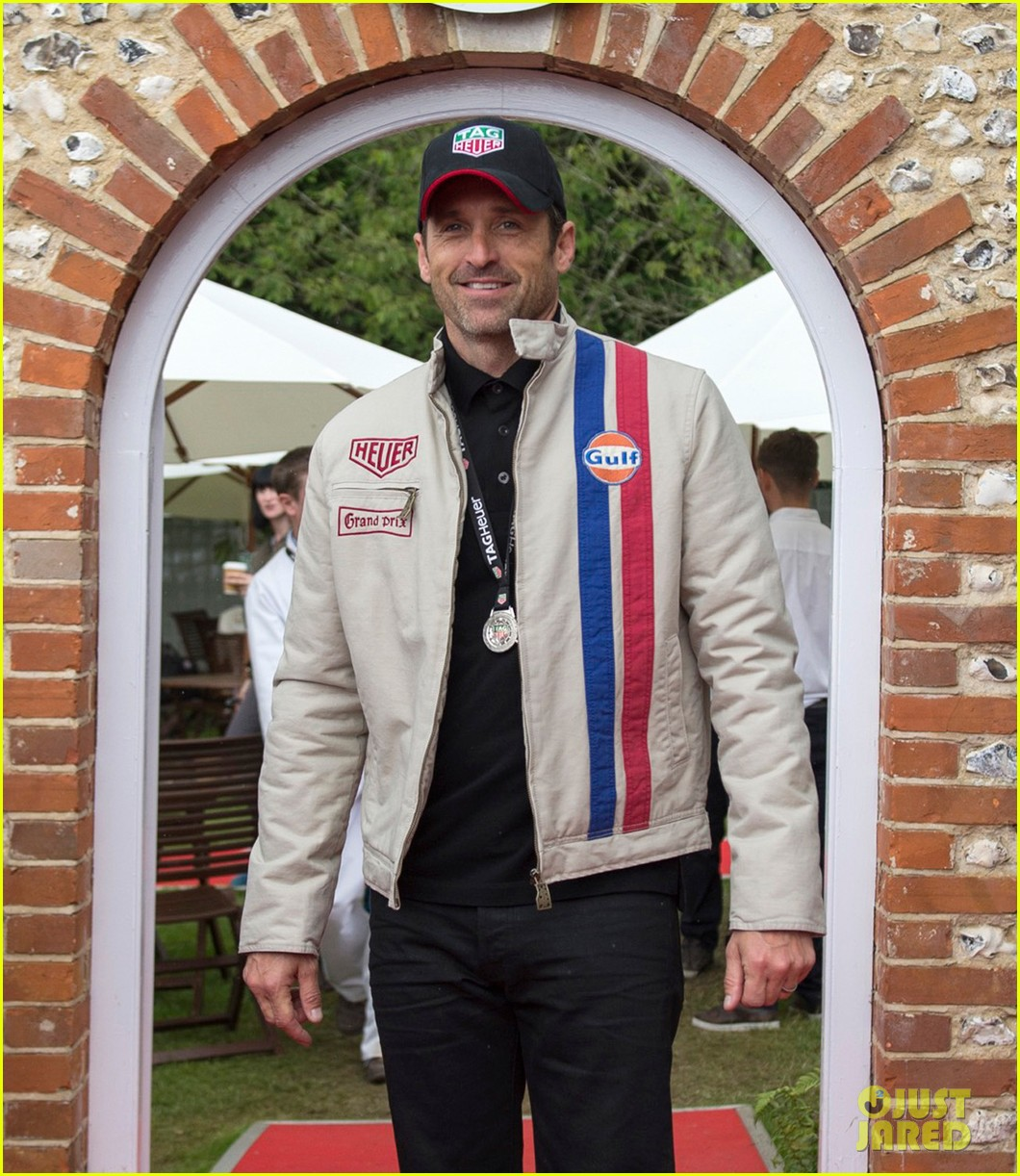patrick dempsey keanu reeves buddy up at goodwood festival of speed 033692908
