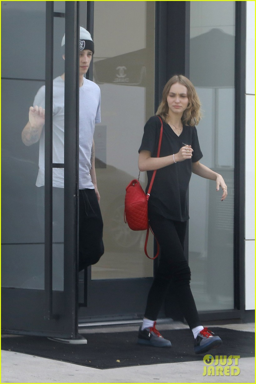 order online buy online sale Lily-Rose Depp Makes Shopping Stop With Ash Stymest : Photo ...