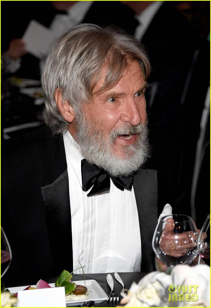 Harrison Ford Sports Bushy Beard At John Williams Tribute