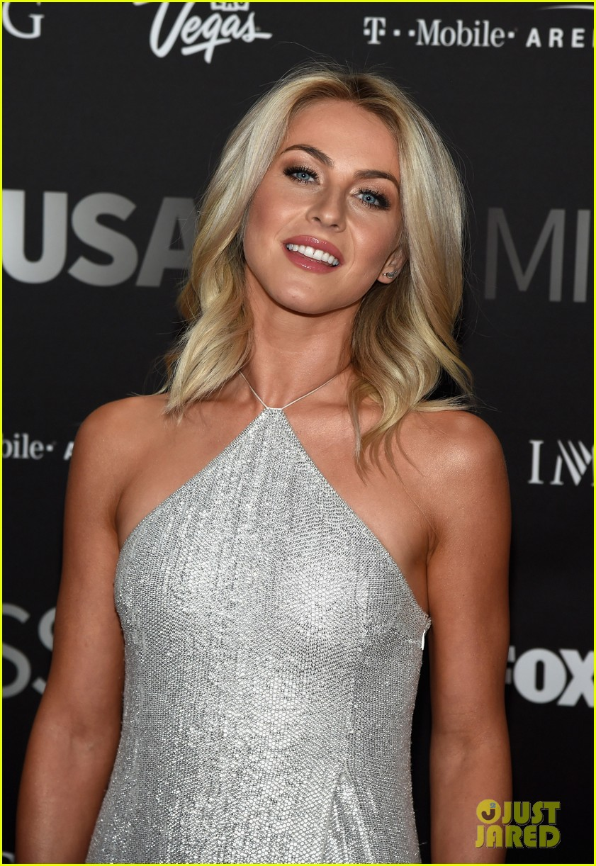 ff688c68ae30a Julianne Hough   Terrence J Arrive for Miss USA 2016 Host Duties ...