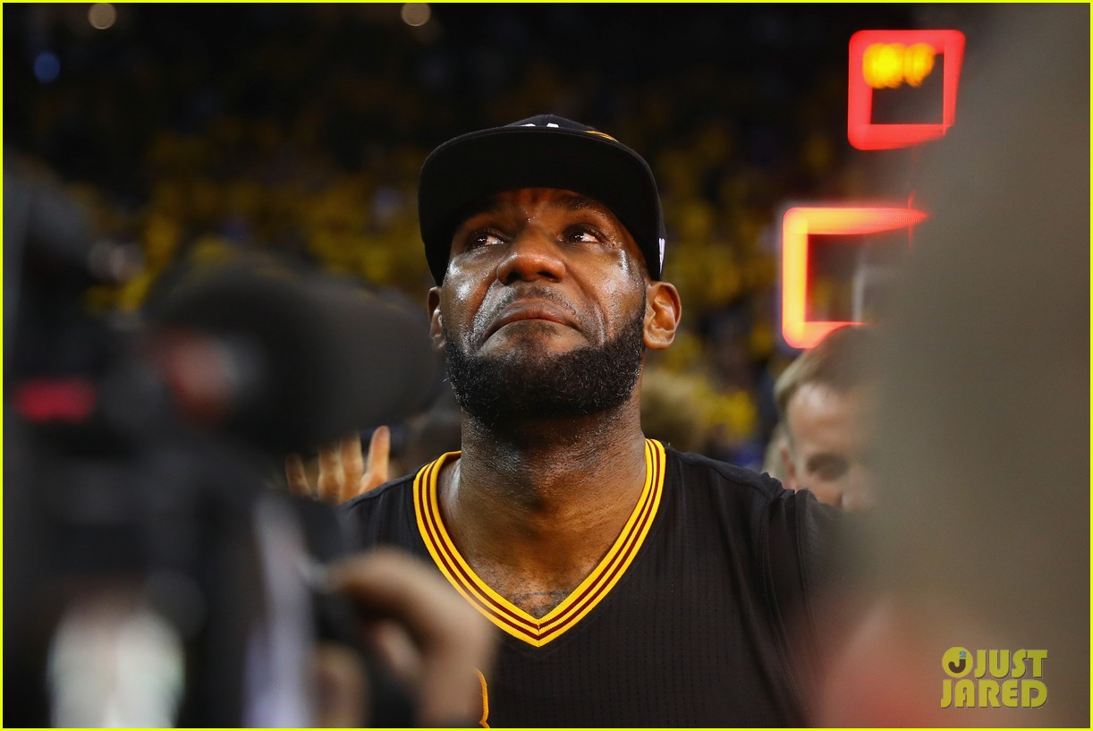 lebron james cries gets emotional after nba finals win 053686910