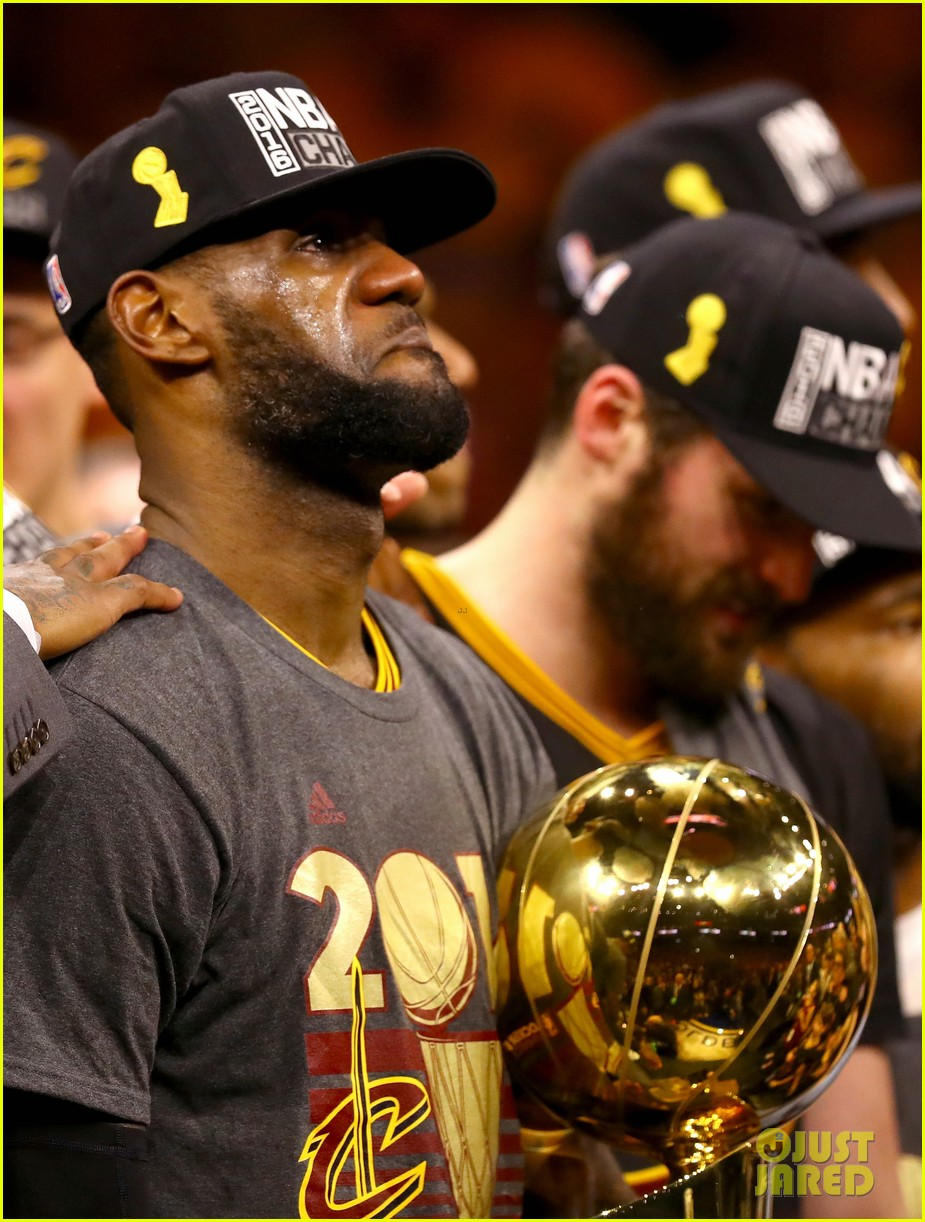 lebron james cries gets emotional after nba finals win 193686924