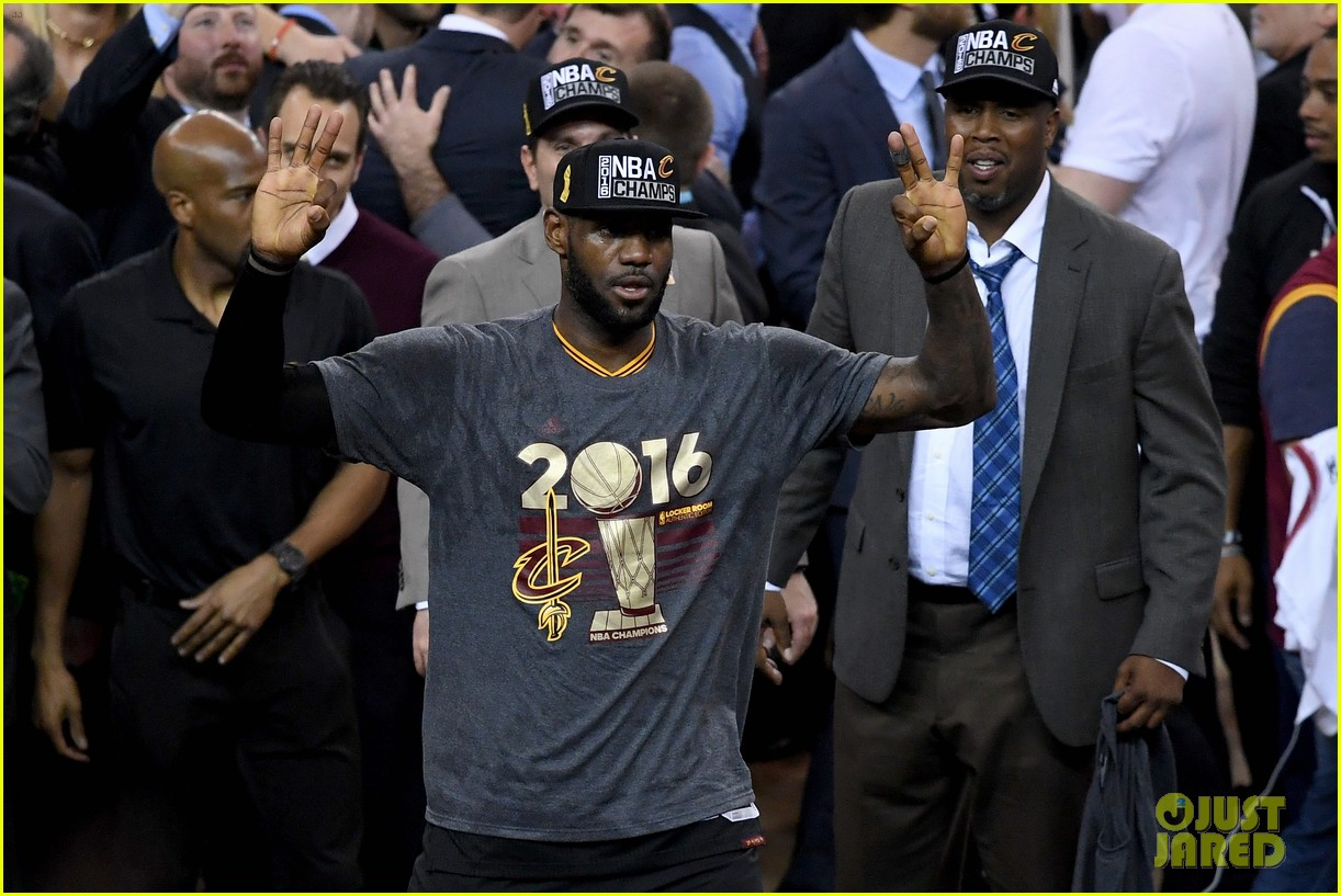 lebron james cries gets emotional after nba finals win 283686933