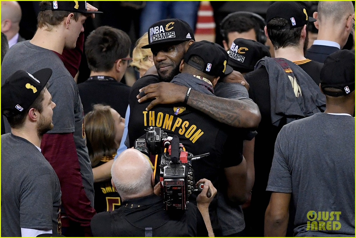 lebron james cries gets emotional after nba finals win 303686935