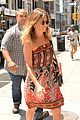jennifer aniston heads out and about in nyc 09