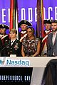 liam hemsworth rings nasdaq bell nyc 29