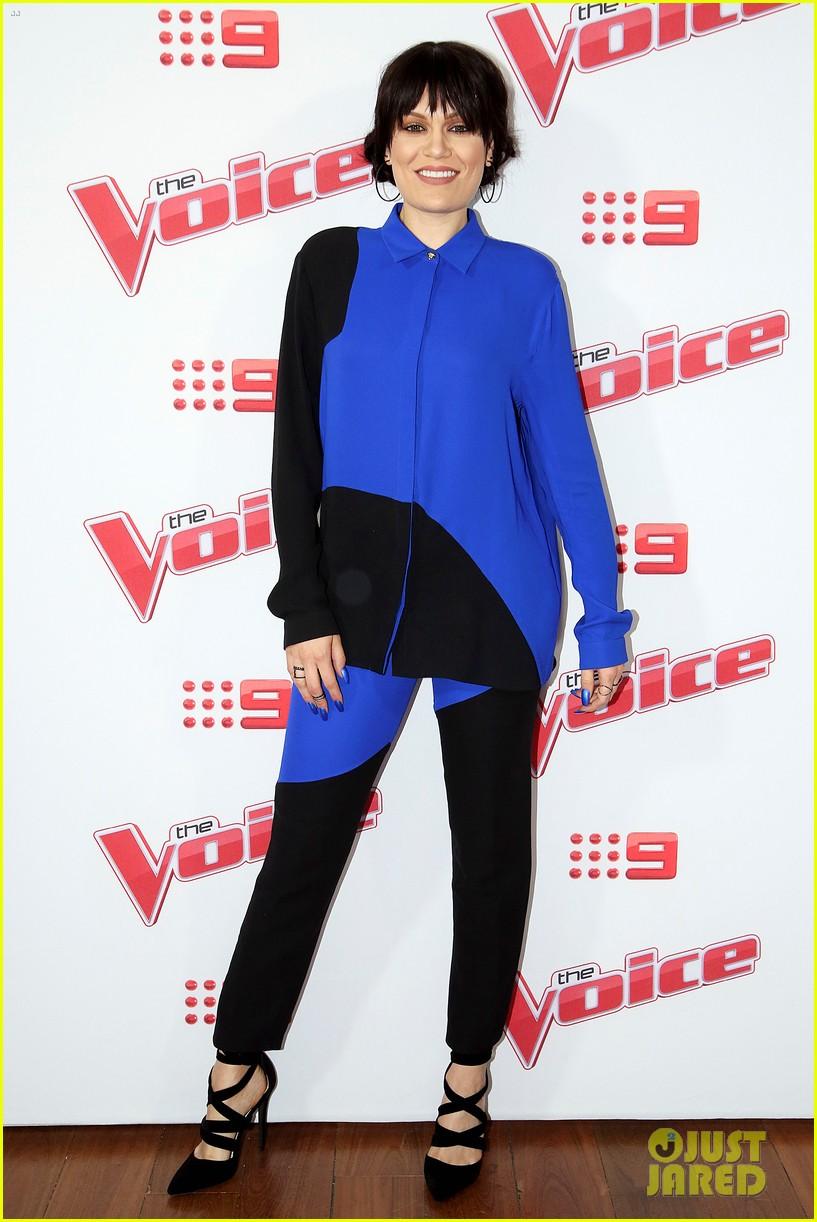 benji joel madden kick off the voice australia with jessie j 133678655