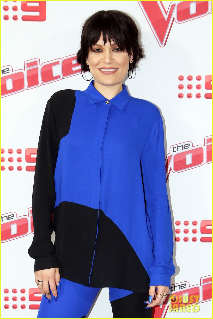 benji joel madden kick off the voice australia with jessie j 143678656