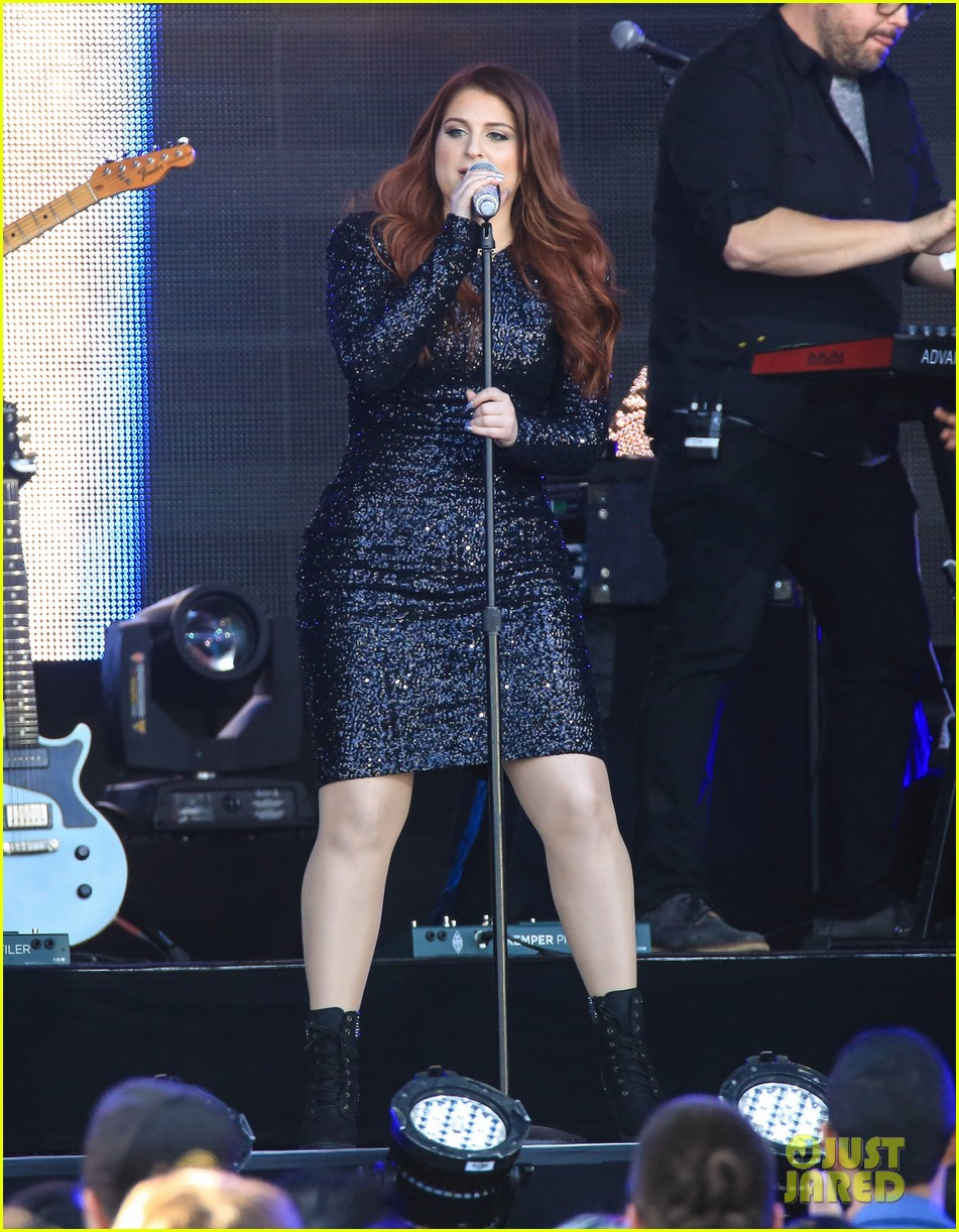 meghan trainor performs jimmy kimmel live pics blessed ig 113684204