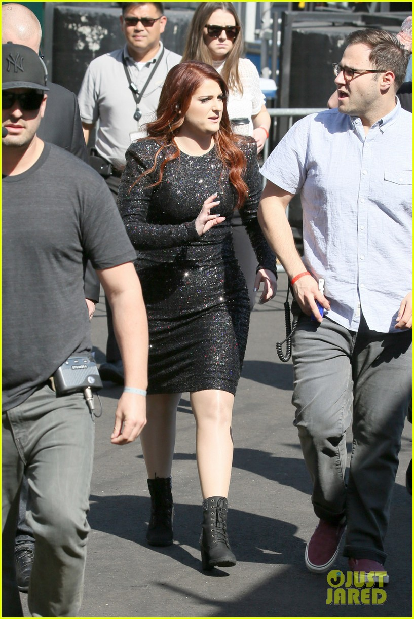 meghan trainor performs jimmy kimmel live pics blessed ig 123684205