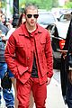 nick jonas red suit aol build appearance 13