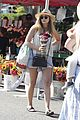 Elizabeth olsen goes boho chic at farmers market 07