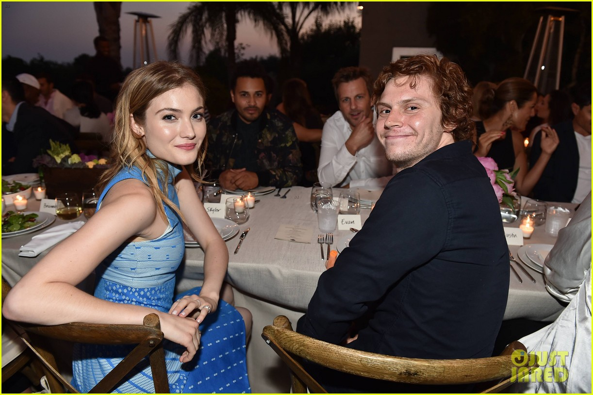 evan peters skyler samuels just jared vintage grocers malibu dinner 253693151
