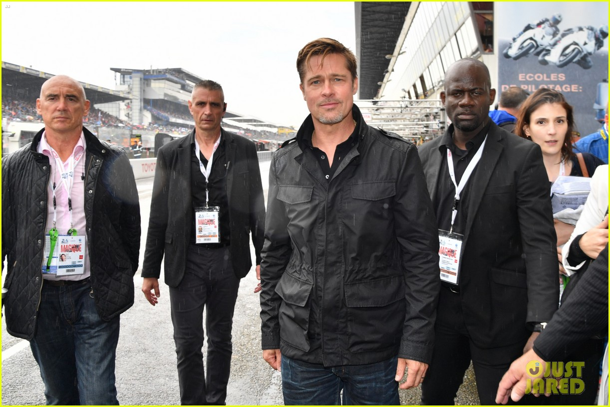 brad pitt becomes a race car driver at le mans 24 hours event 043685746