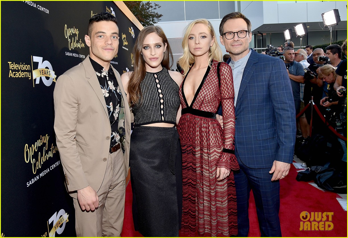 Mr. Robot co-stars at Television Academy Event in Los Angeles, California