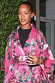 rihanna wears floral kimono for dinner at her favorite spot 13