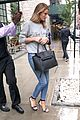 rosie huntington whitely casual rain nyc 05