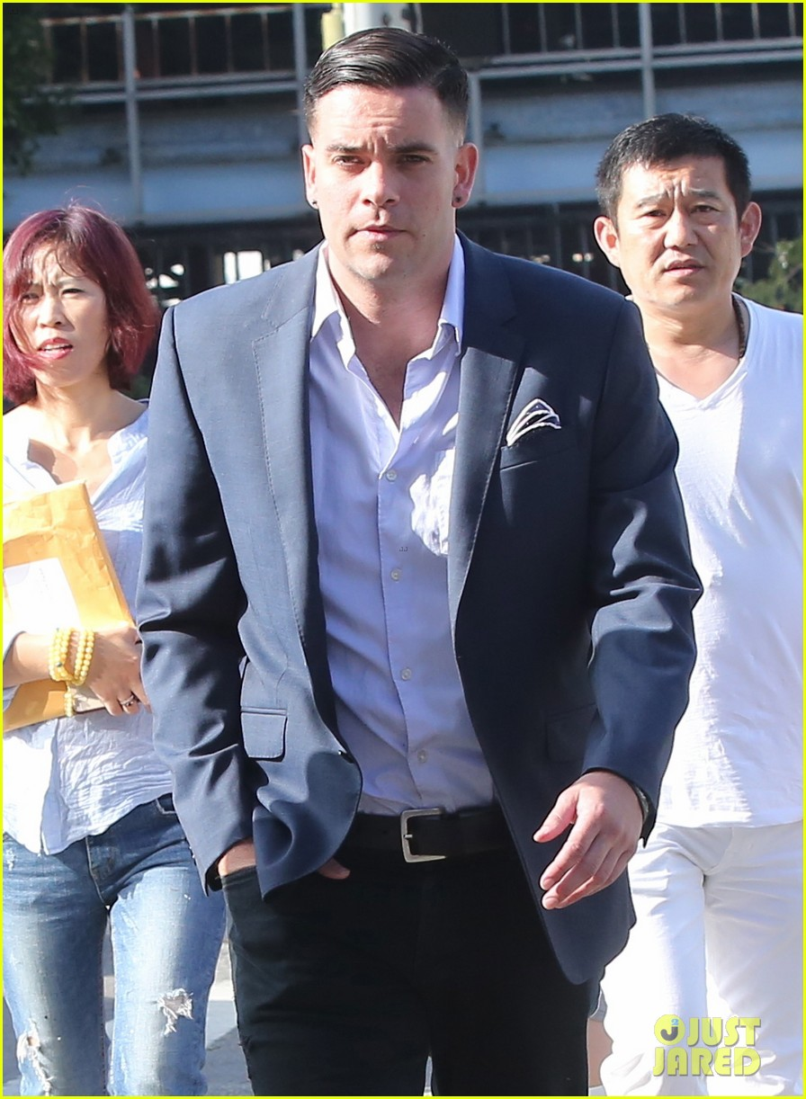 mark salling surrenders in court for indictment charges 043672968