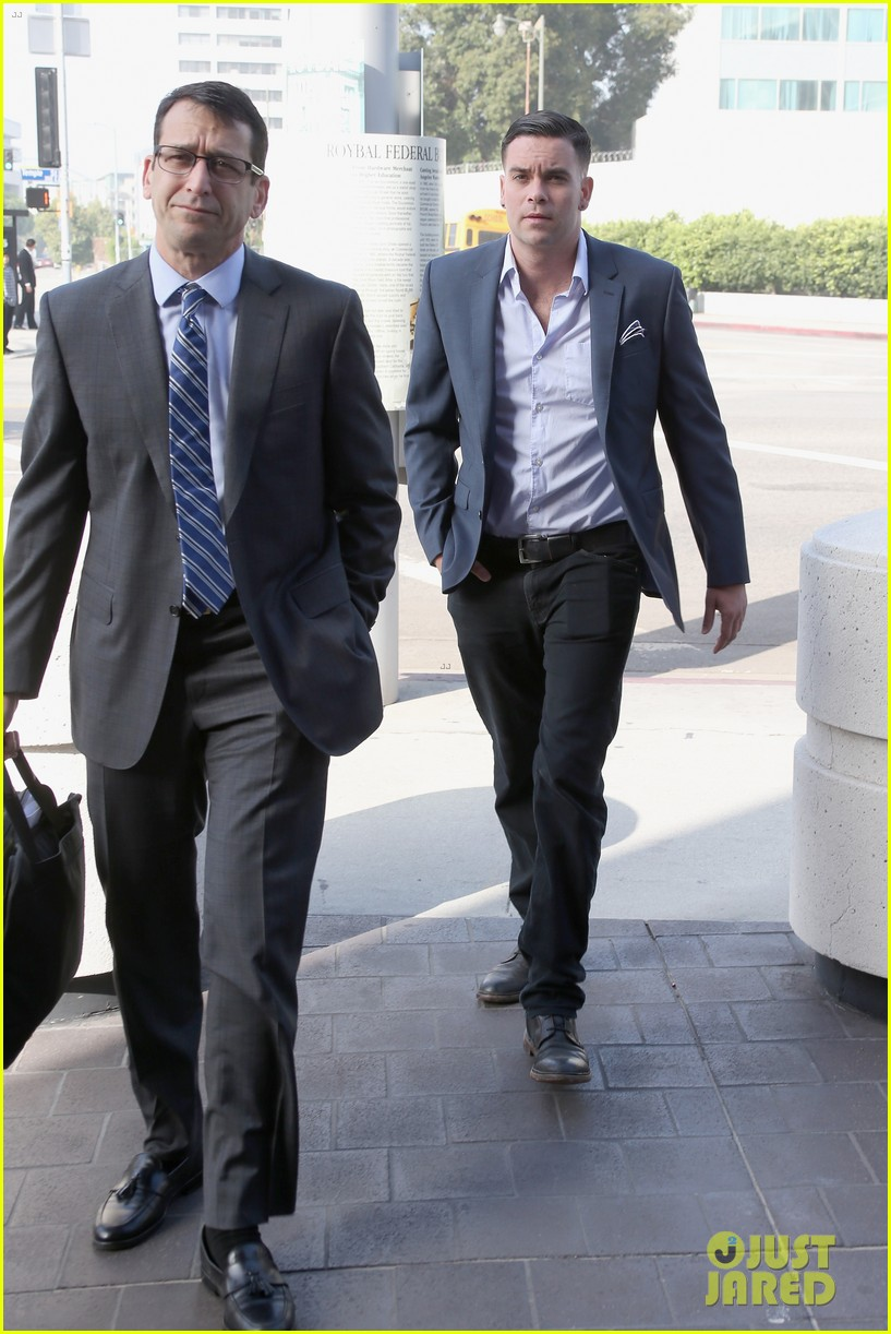 mark salling surrenders in court for indictment charges 053672969