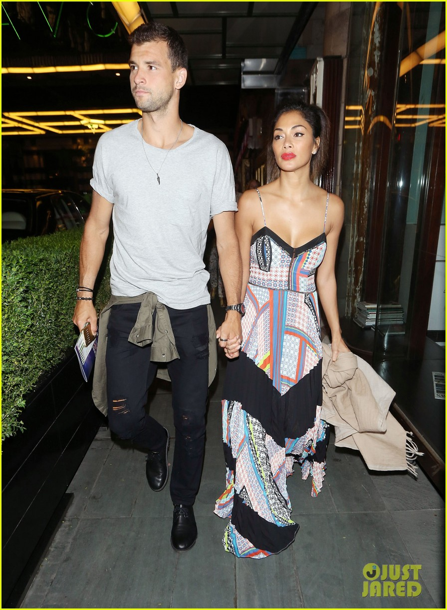 nicole scherzinger boyfriend grigor dimitrov show pda for date night in london 093681383