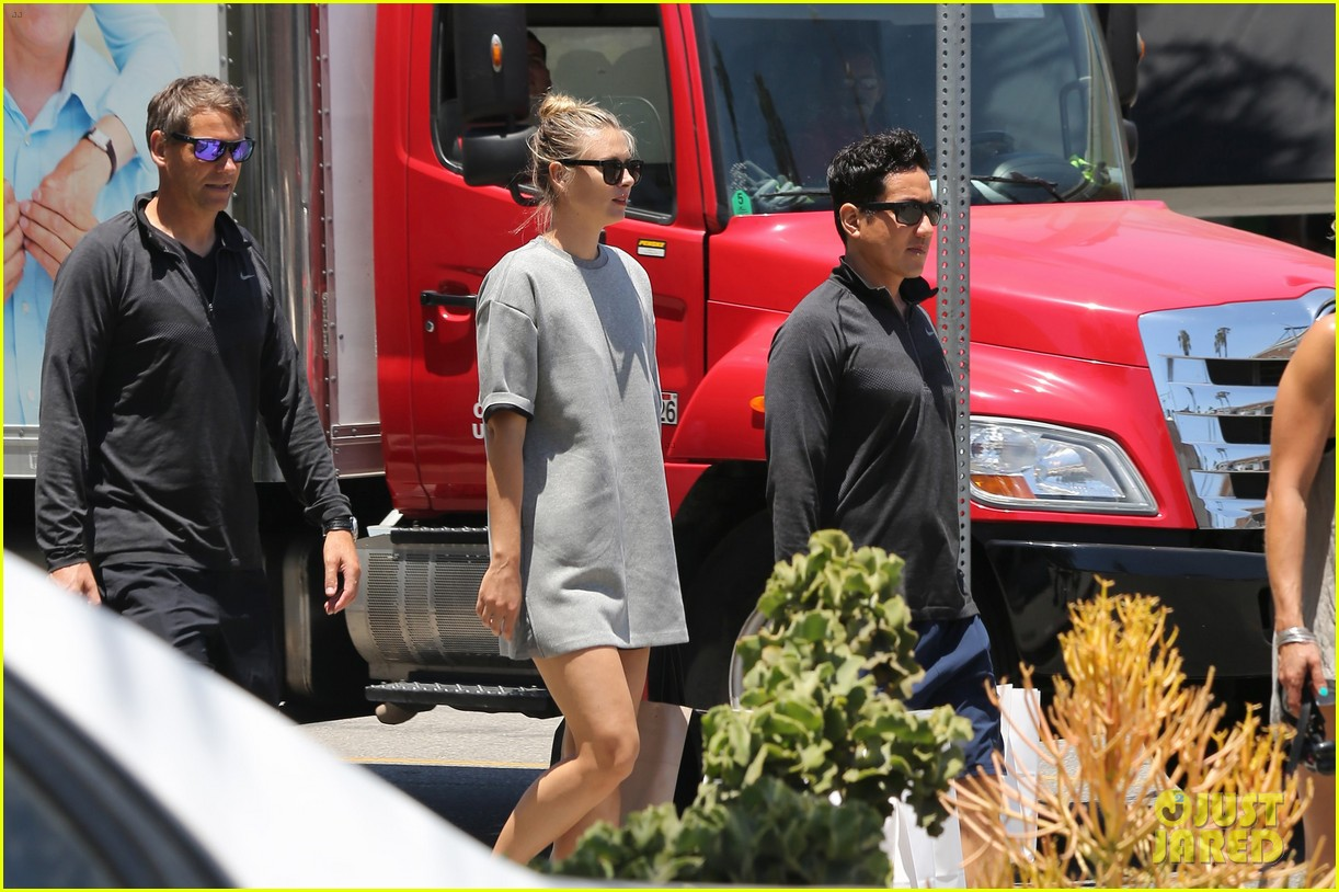 maria sharapova steps out after tennis suspension 383689066