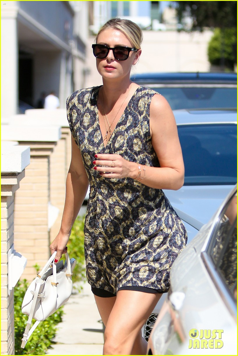 maria sharapova steps out after tennis suspension 443689072