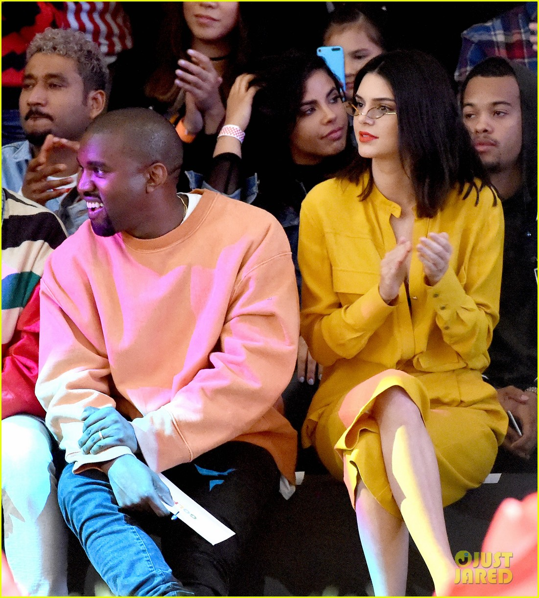 cole dylan sprouse kanye west kendall jenner tyler creator la show 123680249