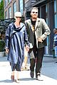 tilda swinton & boyfriend sandro kopp step out in nyc 01