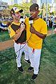 nina agdal jamie foxx hit the field at all star legends 04
