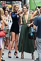 lily aldridge hits up radiohead concert with sister ruby 01