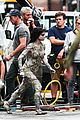 sofia boutella films the mummy in full costume makeup 36