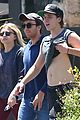 brooklyn beckham lifts shirt after workout with chloe moretz 13
