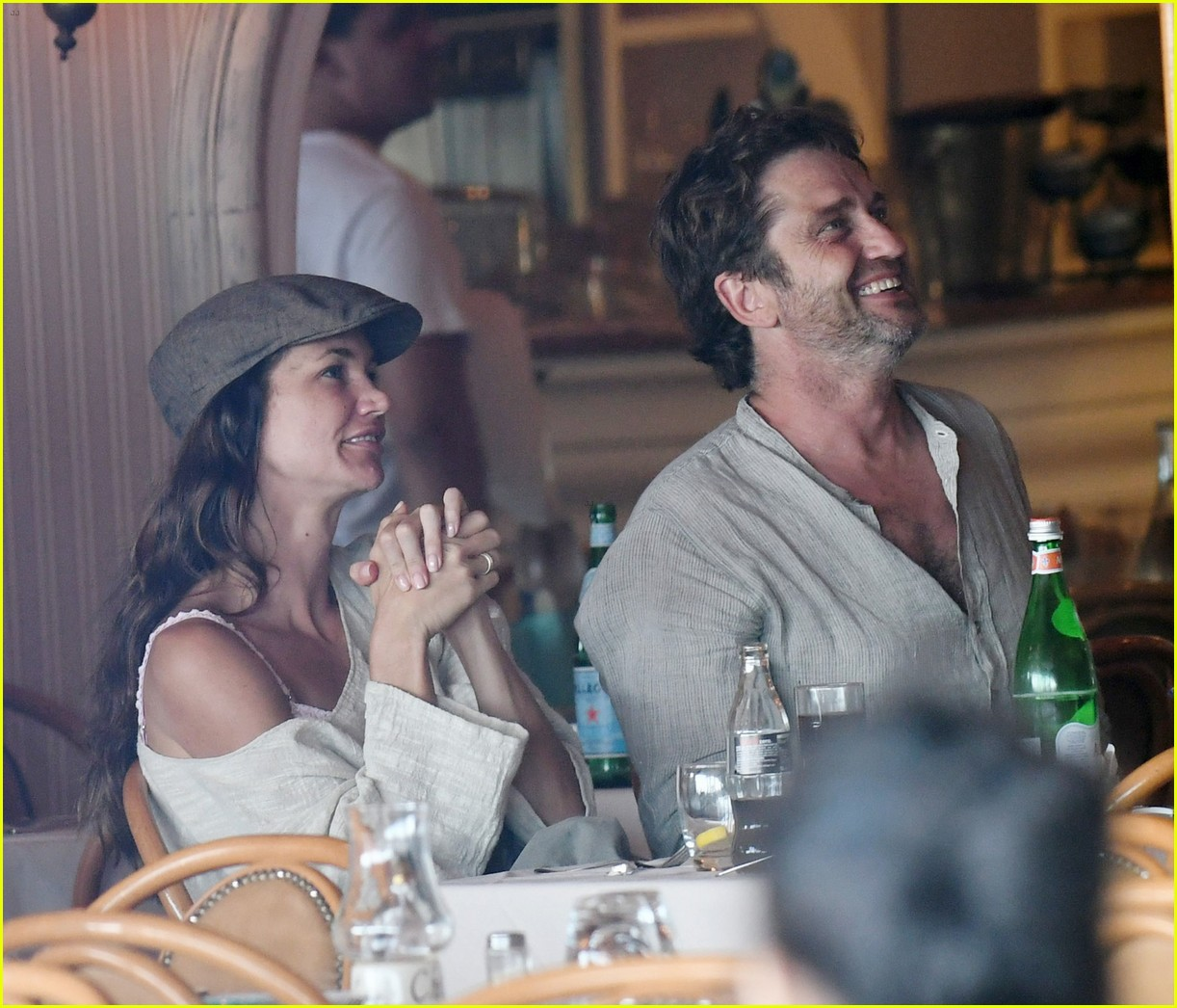 gerard butler morgan brown hot bodies italy 463704721