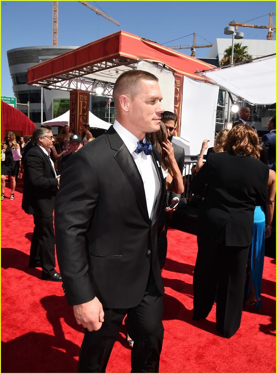 John Cena Walks ESPYs 2016 Carpet with Girlfriend Nikki Bella: Photo ...