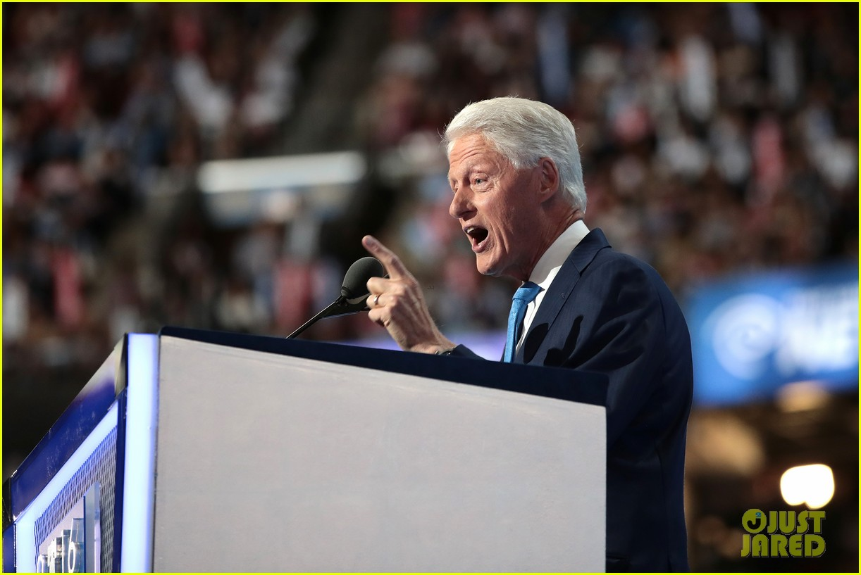 persuasive speech of bill clinton Hillary rodham clinton might become the first female president of the united states of america—formerly being the first lady, a senator, and the secretary of state—as she is running as a candidate in the 2016 presidential election.