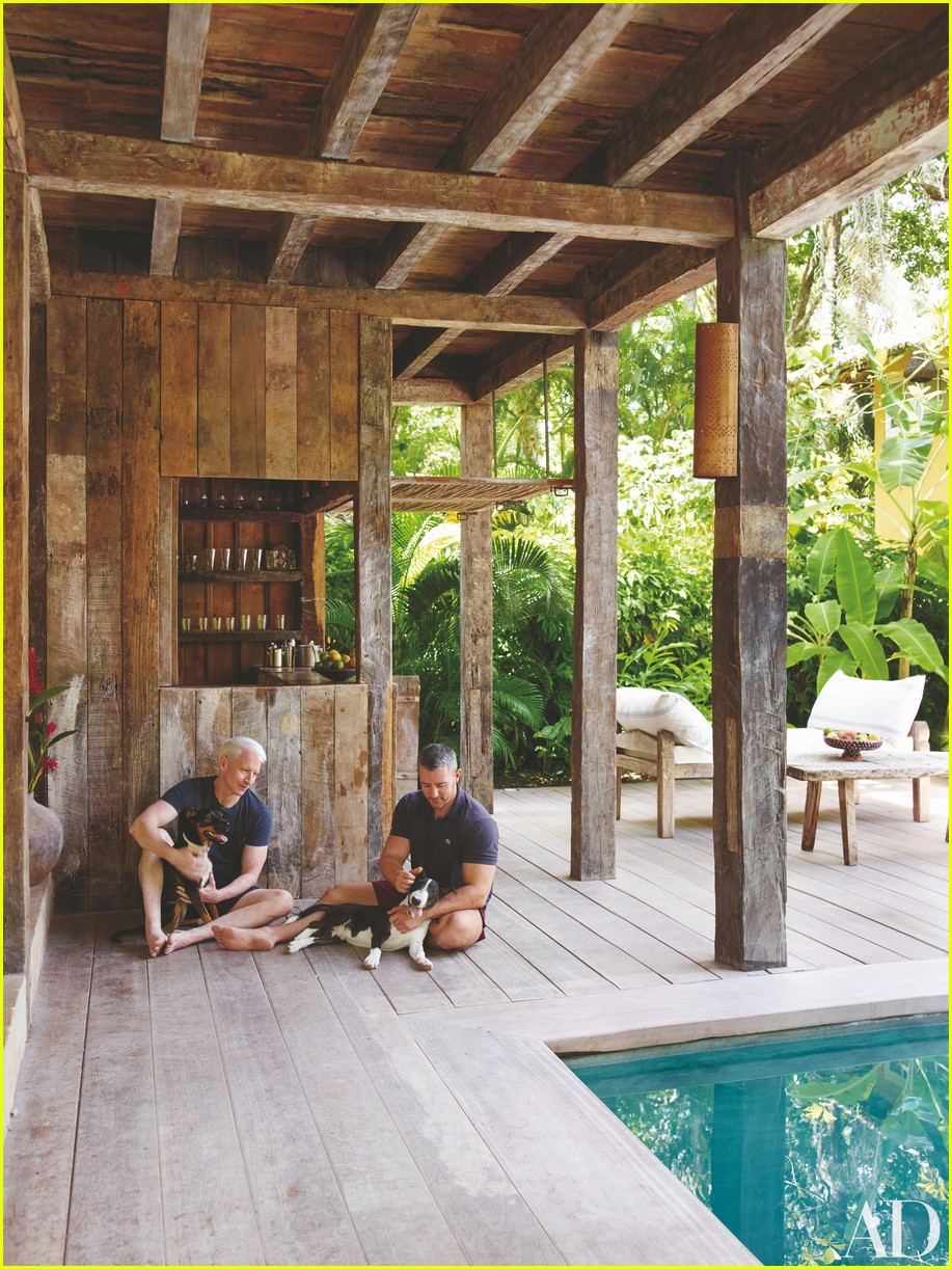 Full Sized Photo of anderson cooper architectural digest