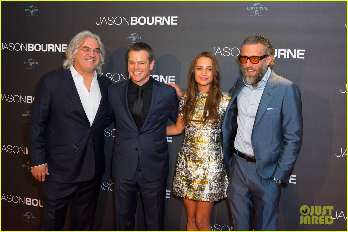 Matt Damon & Alici...