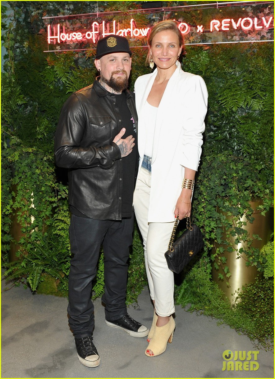 cameron diaz gushes over benji madden his new album photo