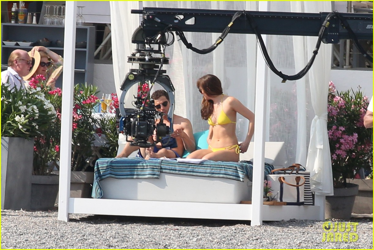 jamie dornan dakota johnson shirtless bikini fifty shades freed honeymoon 053704226
