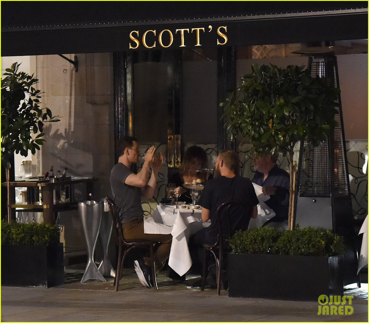 michael fassbender dinner ridley scott london 213712641