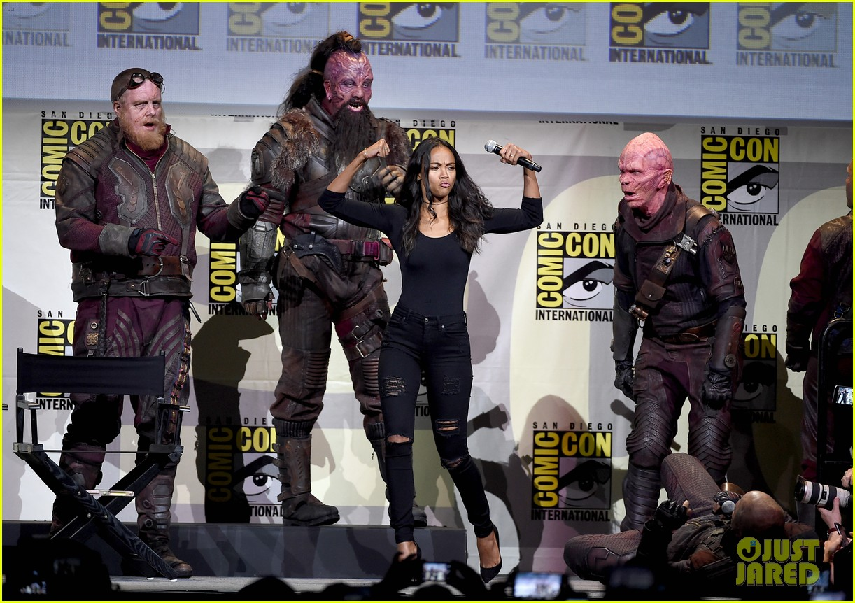 Full sized photo of guardians of the galaxy comic con 21 photo
