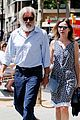 harrison ford calista flockhard take romantic stroll in barcelona 08