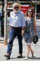 harrison ford calista flockhard take romantic stroll in barcelona 15