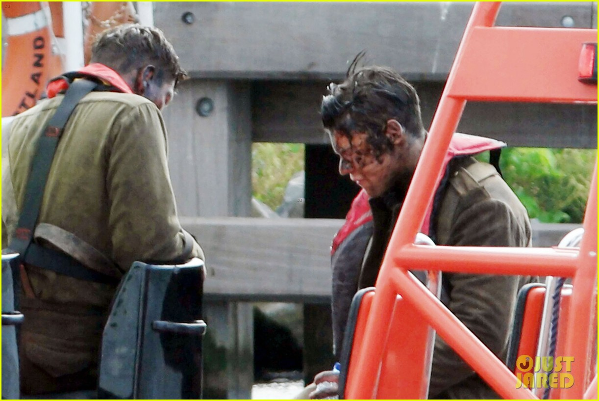 harry styles gets dirty on the set of dunkirk 083705657