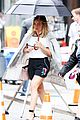 hilary duff sutton foster look chic while filming younger 17